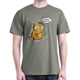 Garfield Mens Classic Dark T-Shirts