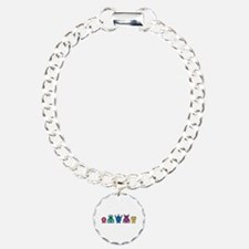Kawaii Rainbow Alien Monsters Bracelet