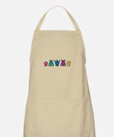 Kawaii Rainbow Alien Monsters Apron