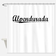 Alpendurada, Aged, Shower Curtain
