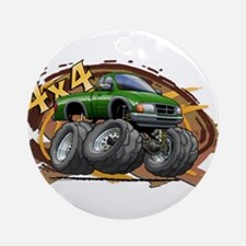 Green Ranger Ornament (Round)