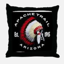 Apache Trail Arizona Throw Pillow