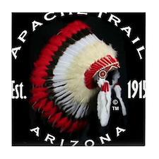 Apache Trail Arizona Tile Coaster