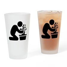 Bonsai Lover Drinking Glass