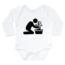 Bonsai Lover Long Sleeve Infant Bodysuit