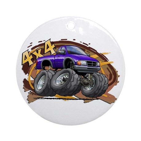 Purple Ranger Ornament (Round)
