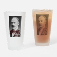 To Dwellers In A Wood - Thomas Hardy Drinking Glas
