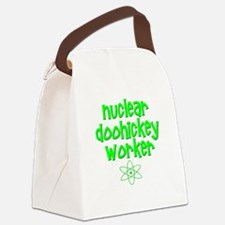Nuclear DooHickey Worker Canvas Lunch Bag