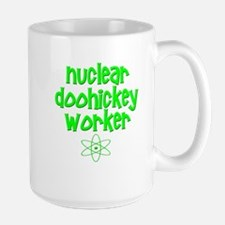 Nuclear DooHickey Worker Large Mug