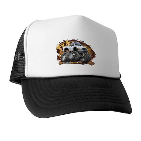 White Ranger Trucker Hat