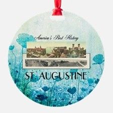 St. Augustine Americasbesthistory.c Ornament