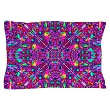 Hippie Purple Mandala Pattern Pillow Case
