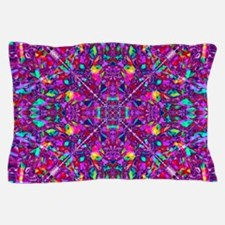 Hippie Purple Mandala Pattern Pillow Case
