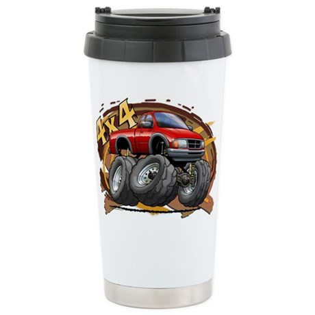 Red Ranger Stainless Steel Travel Mug
