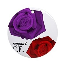 Support C.F. Ornament (Round)