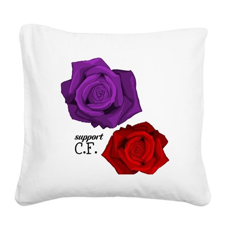 Support C.F. Square Canvas Pillow