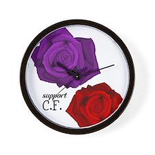 Support C.F. Wall Clock