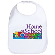 Home School Rocks! Bib