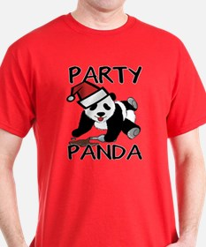 Funny party panda design T-Shirt