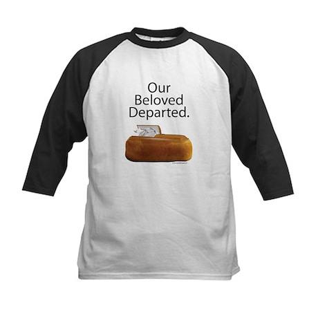 Our Beloved Departed Kids Baseball Jersey