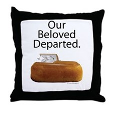 Our Beloved Departed Throw Pillow