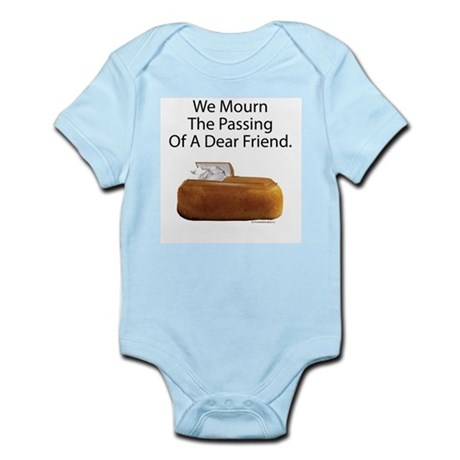 We Mourn The Passing Of A Dear Friend. Infant Body