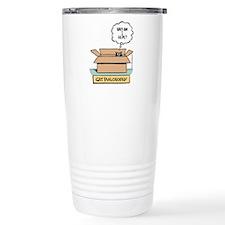Cute Comics art Travel Mug