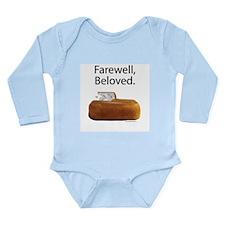 Farewell, Beloved. Long Sleeve Infant Bodysuit