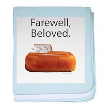 Farewell, Beloved. baby blanket