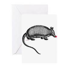 armadillo.png Greeting Cards (Pk of 10)