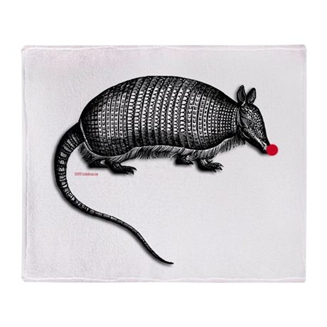 armadillo.png Throw Blanket