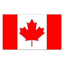 Canada Rectangle Bumper Stickers