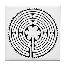 Medieval Labyrinth Tile Coaster