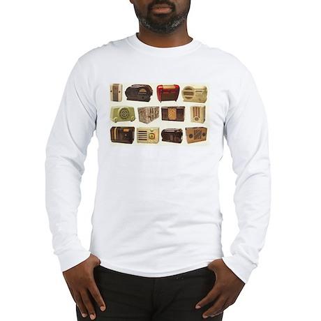 Old School Radio Long Sleeve T-Shirt
