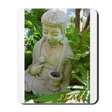 Buddha Peace in the Garden Mousepad