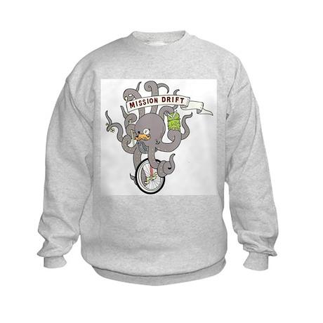 MISSION DRIFT Kids Sweatshirt