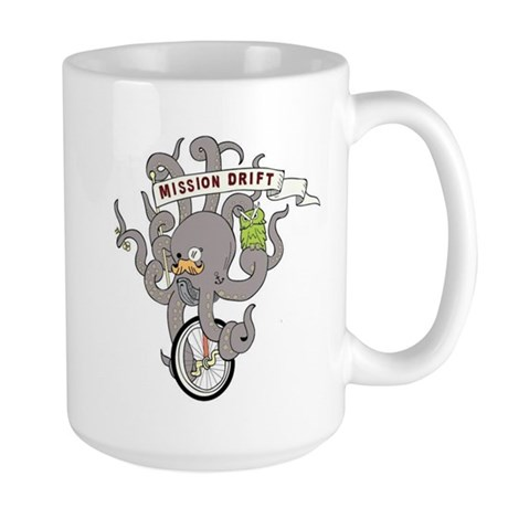 MISSION DRIFT Large Mug