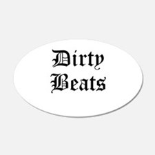 Dirty Beats Wall Decal