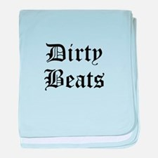 Dirty Beats baby blanket