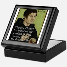 The True Gospel - Martin Luther Keepsake Box