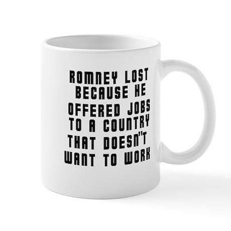 Romney Lost...