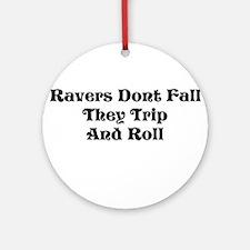 Ravers Trip Ornament (Round)
