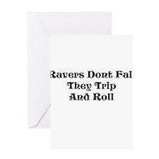 Ravers Trip Greeting Card