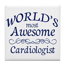 Cardiologist Tile Coaster