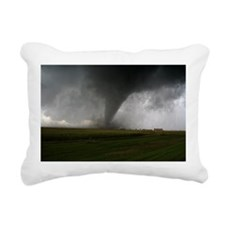 Tornado Rectangular Canvas Pillow