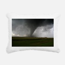 Tornado Rectangular Canvas Pillow
