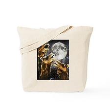 Three Camel Moon Tote Bag
