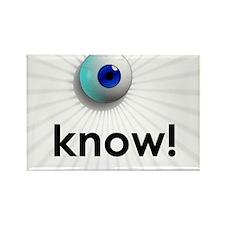 Cute Optometrist Rectangle Magnet (100 pack)