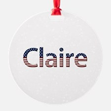Claire Stars and Stripes Ornament