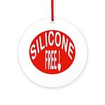 Silicone Free Ornament (Round)